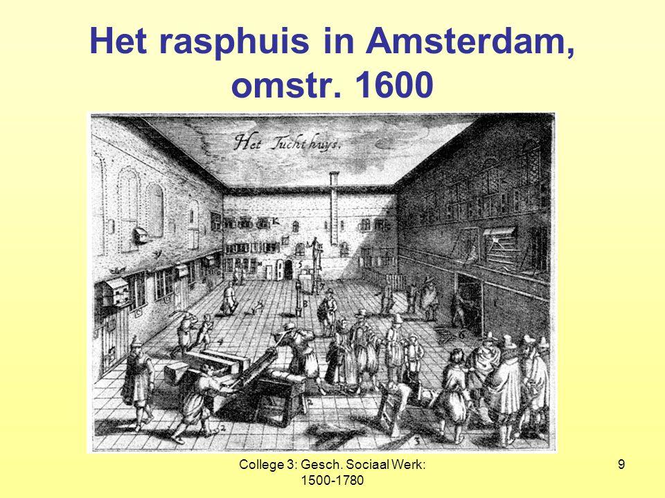 Het rasphuis in Amsterdam, omstr. 1600