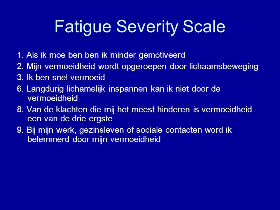 Fatigue Severity Scale