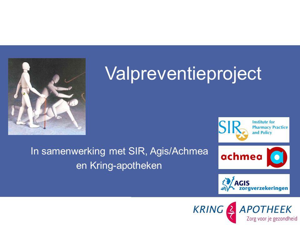 In samenwerking met SIR, Agis/Achmea
