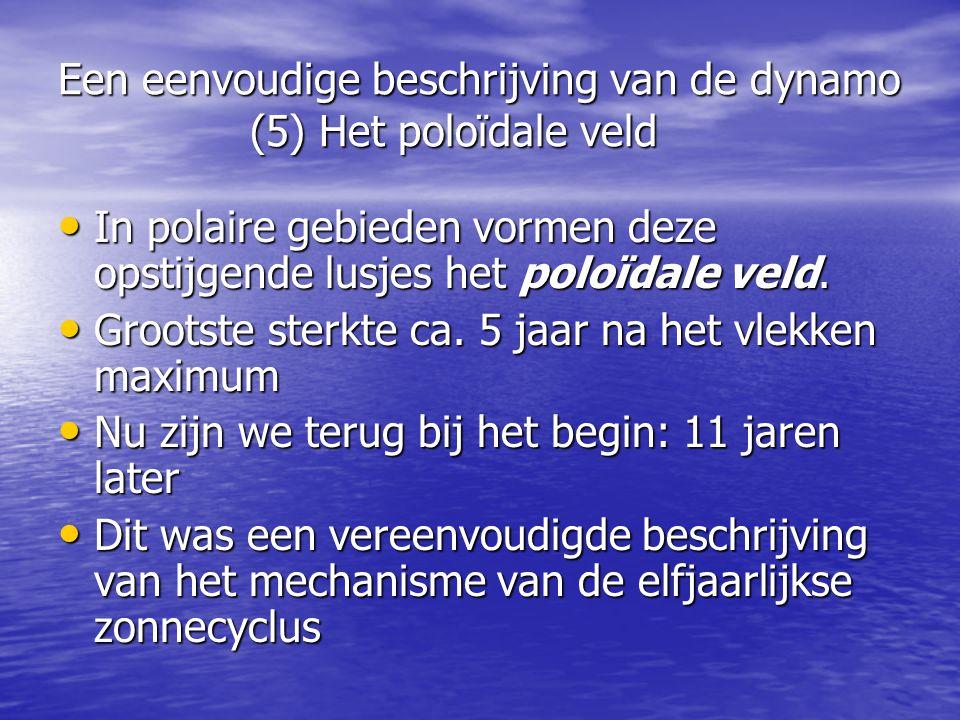 Een eenvoudige beschrijving van de dynamo (5) Het poloïdale veld