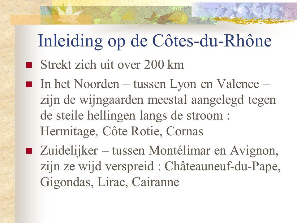 Inleiding op de Côtes-du-Rhône