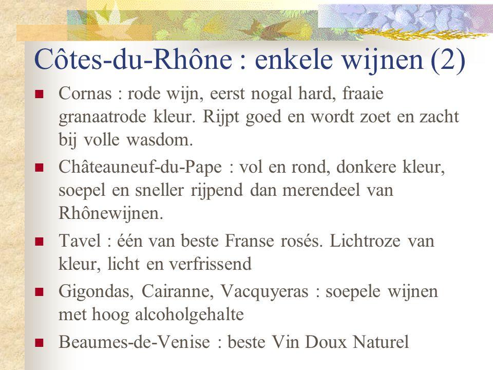 Côtes-du-Rhône : enkele wijnen (2)