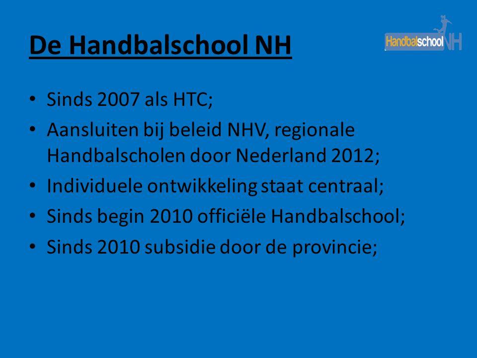 De Handbalschool NH Sinds 2007 als HTC;