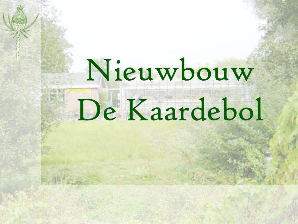 Nieuwbouw De Kaardebol
