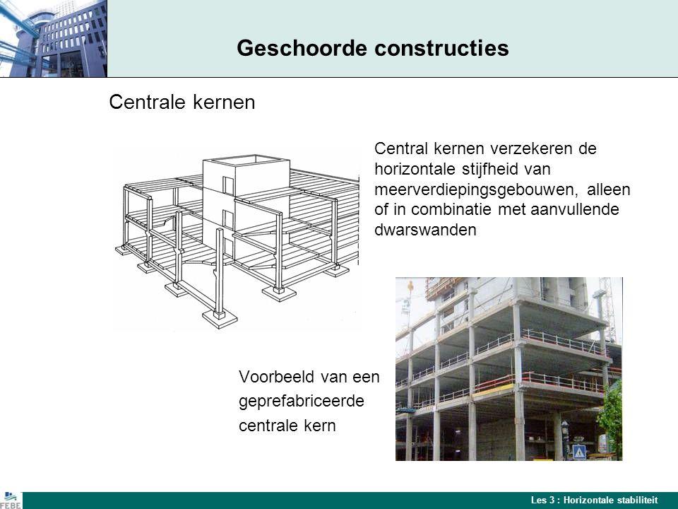 Geschoorde constructies