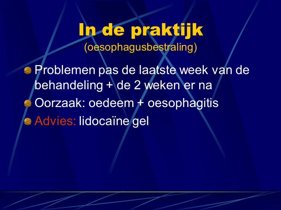 In de praktijk (oesophagusbestraling)