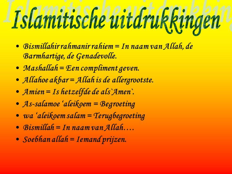Islamitische uitdrukkingen