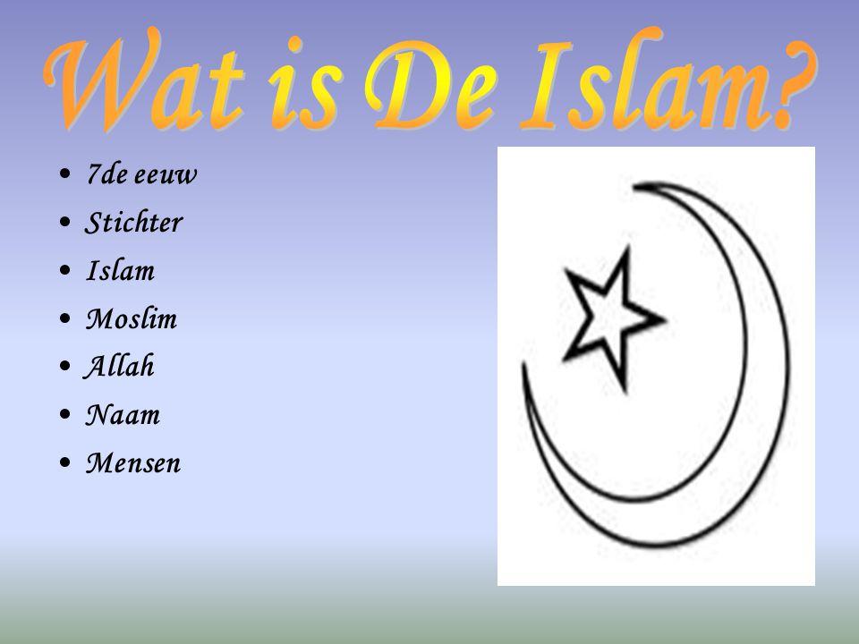 Wat is De Islam 7de eeuw Stichter Islam Moslim Allah Naam Mensen