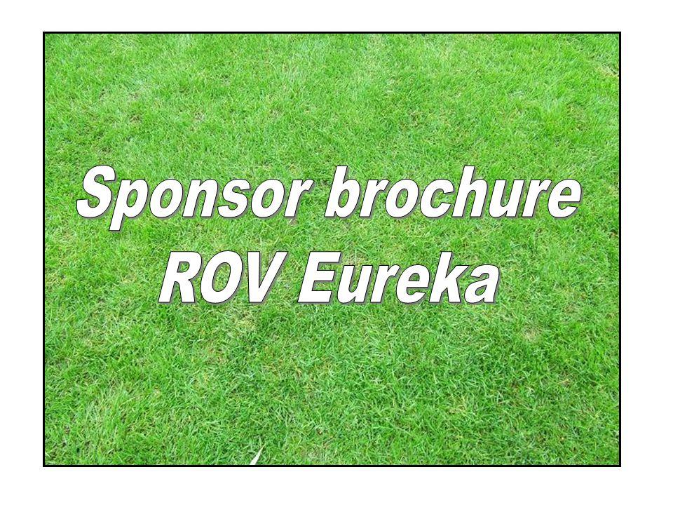 Sponsor brochure ROV Eureka