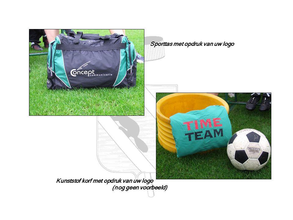 Sporttas met opdruk van uw logo