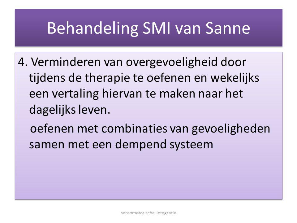 Behandeling SMI van Sanne