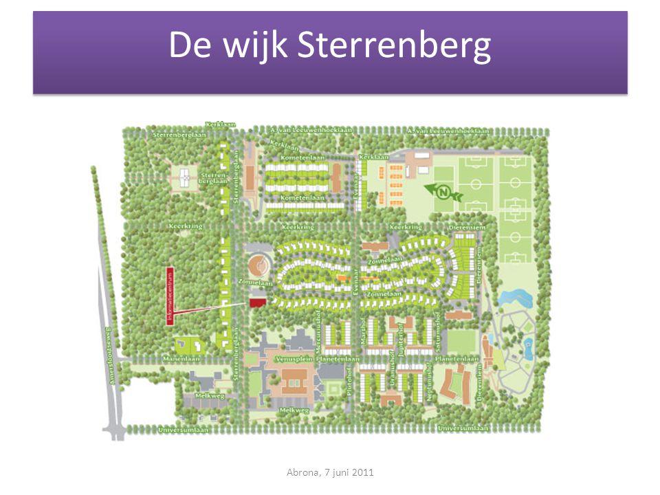 De wijk Sterrenberg Abrona, 7 juni 2011