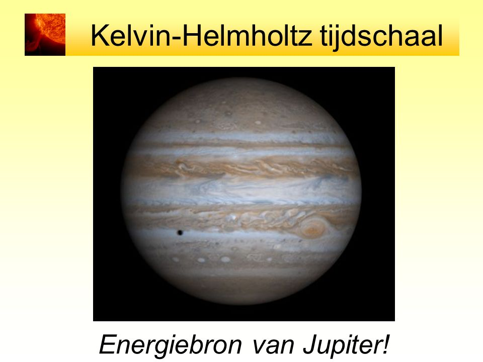 Kelvin-Helmholtz tijdschaal