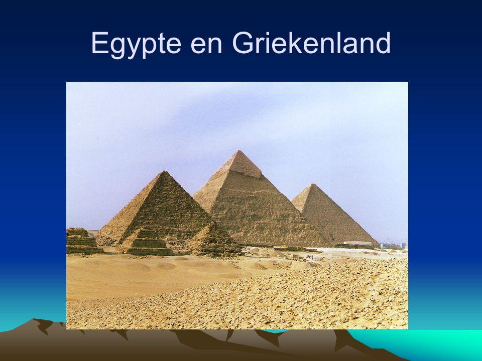 Egypte en Griekenland