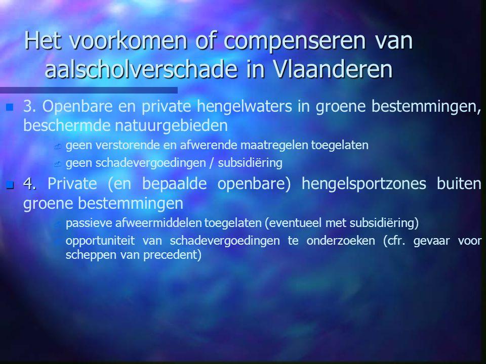 Het voorkomen of compenseren van aalscholverschade in Vlaanderen
