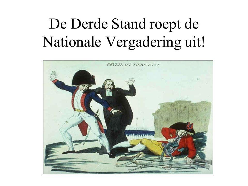 De Derde Stand roept de Nationale Vergadering uit!