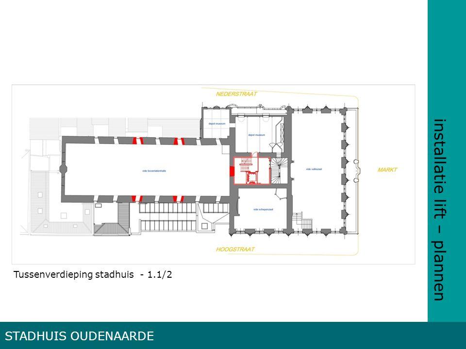 installatie lift – plannen