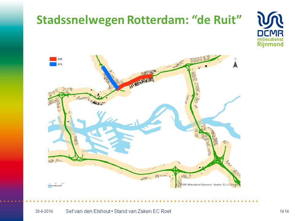 Stadssnelwegen Rotterdam: de Ruit
