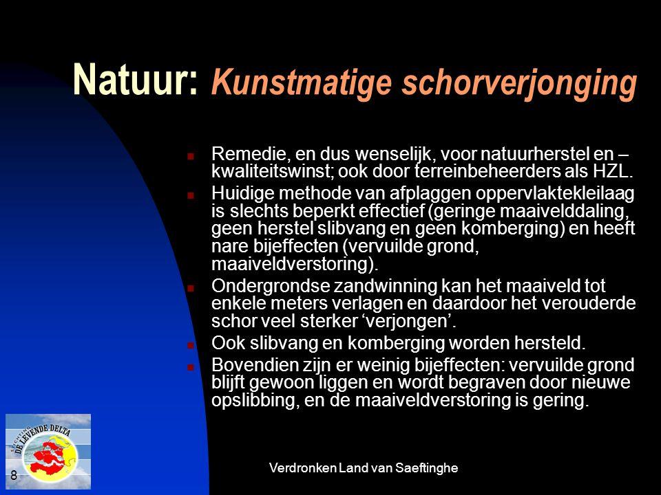 Natuur: Kunstmatige schorverjonging