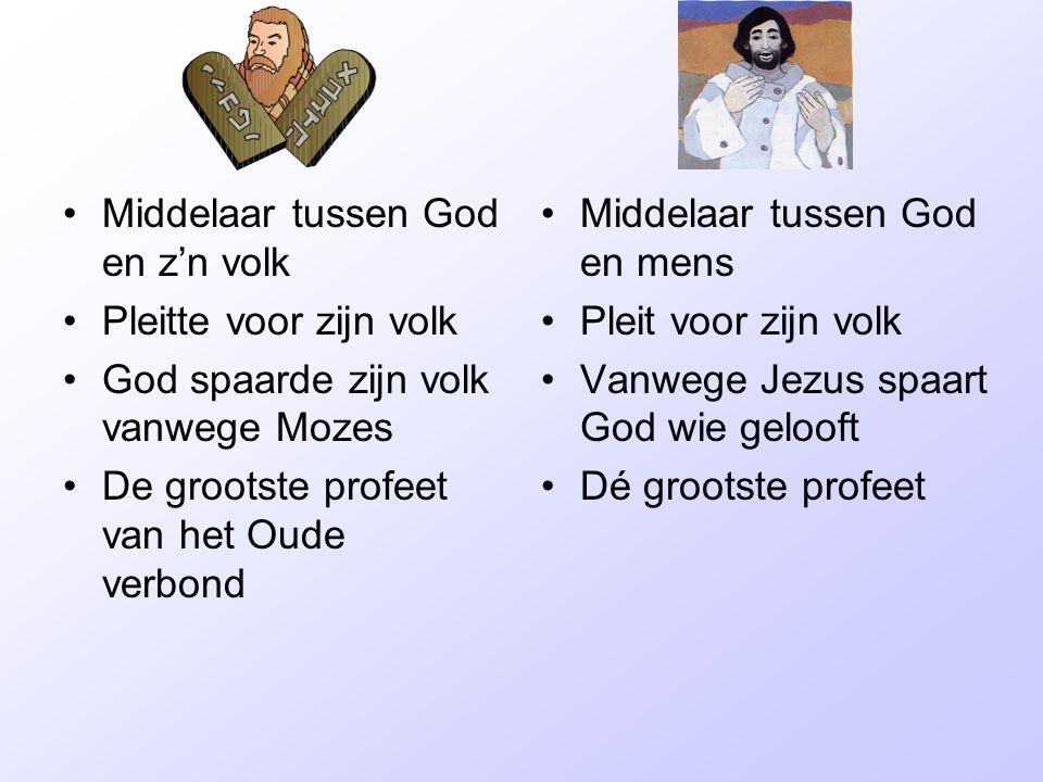 Middelaar tussen God en z'n volk
