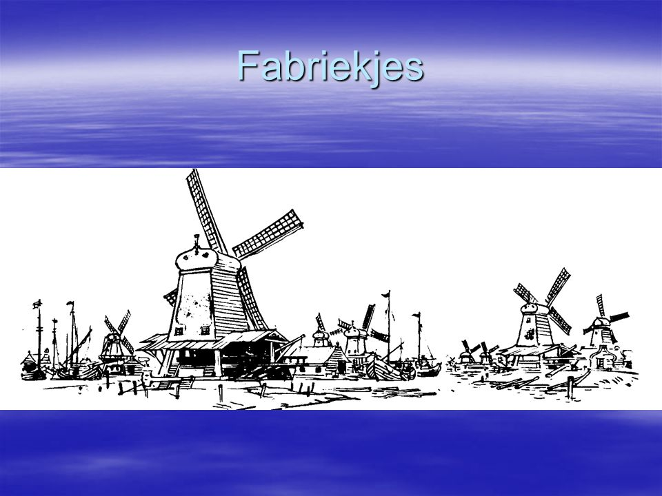 Fabriekjes