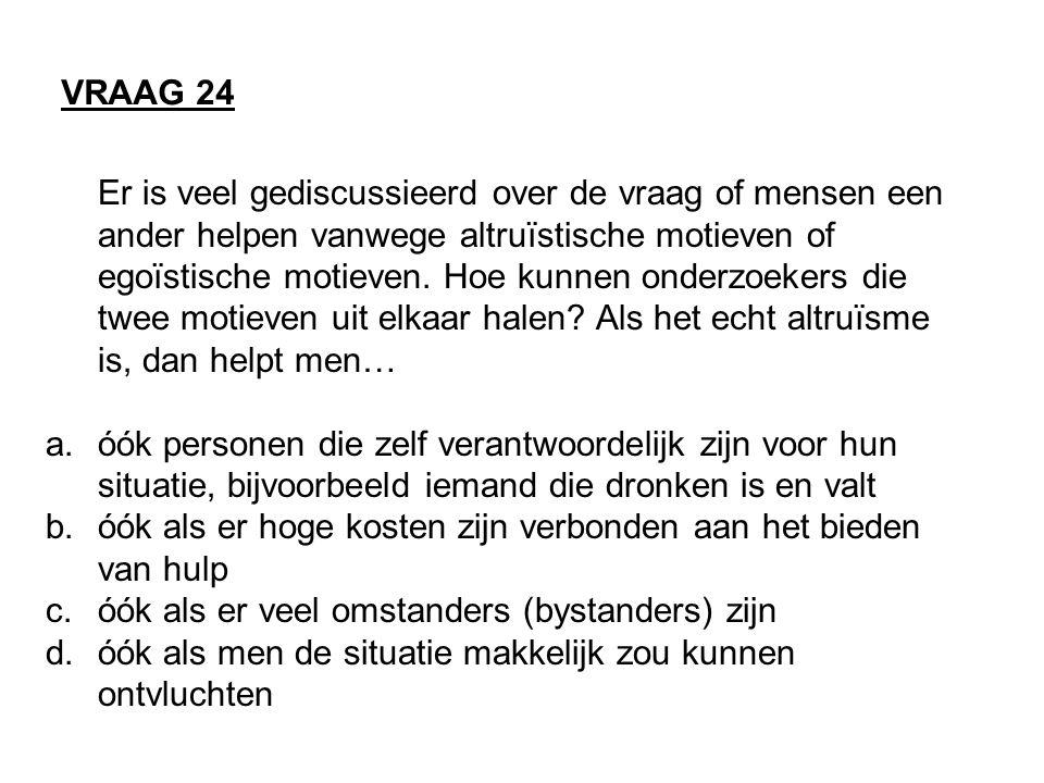 VRAAG 24