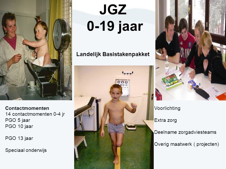 JGZ 0-19 jaar Landelijk Basistakenpakket