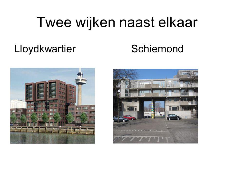 Twee wijken naast elkaar