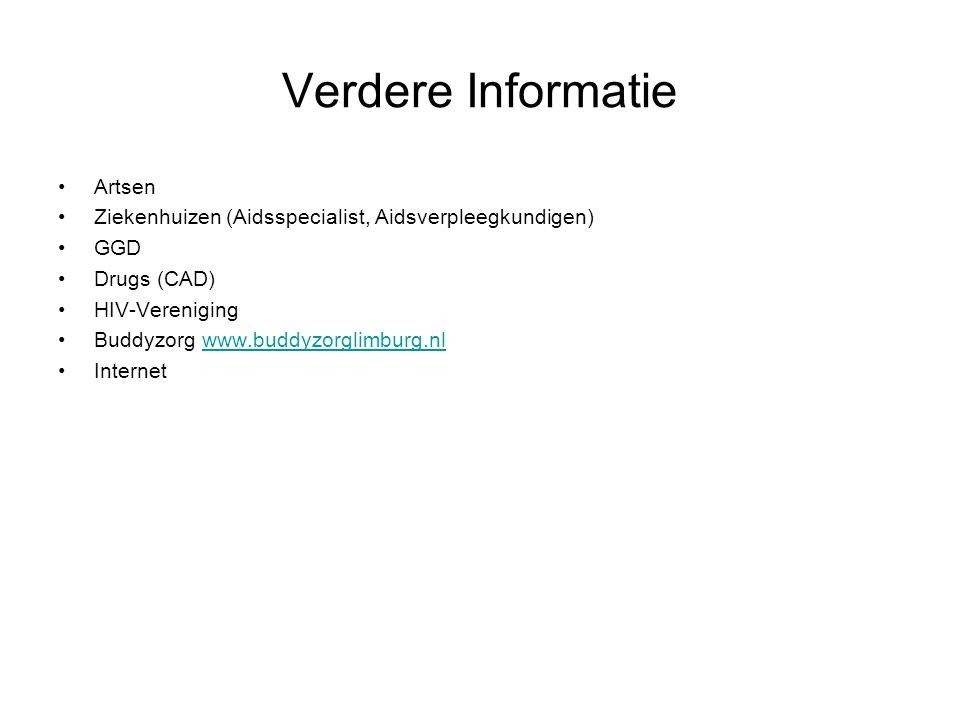 Verdere Informatie Artsen