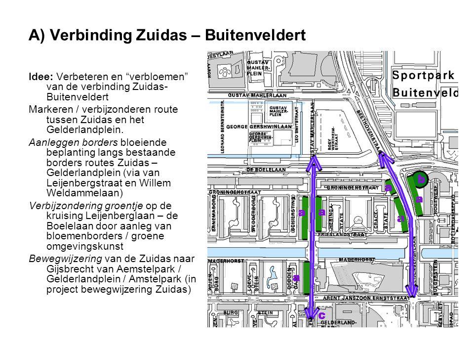 A) Verbinding Zuidas – Buitenveldert