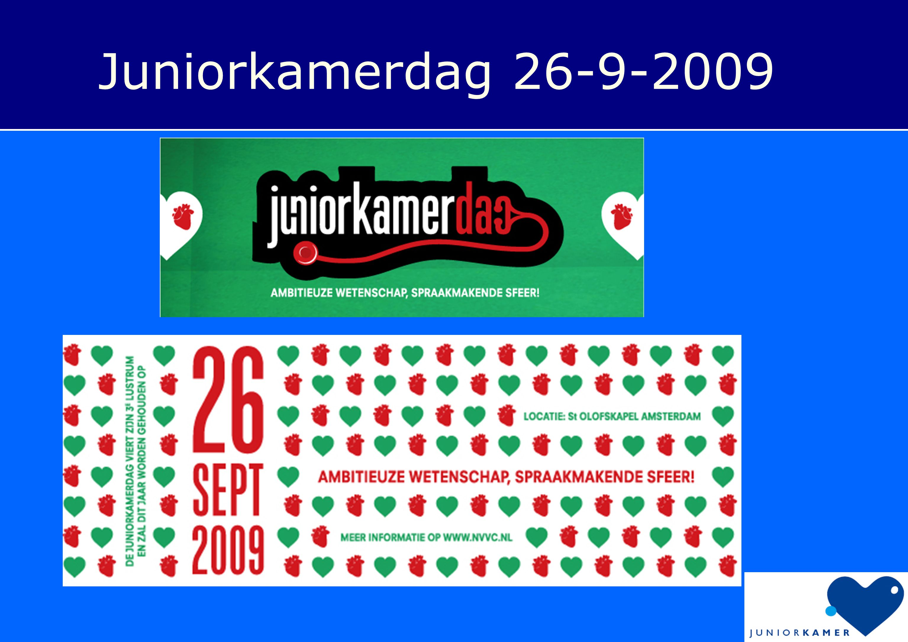 Juniorkamerdag