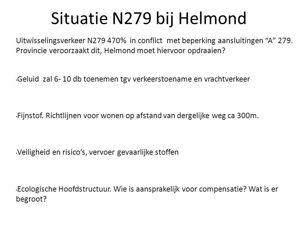 2222 Situatie N279 bij Helmond.