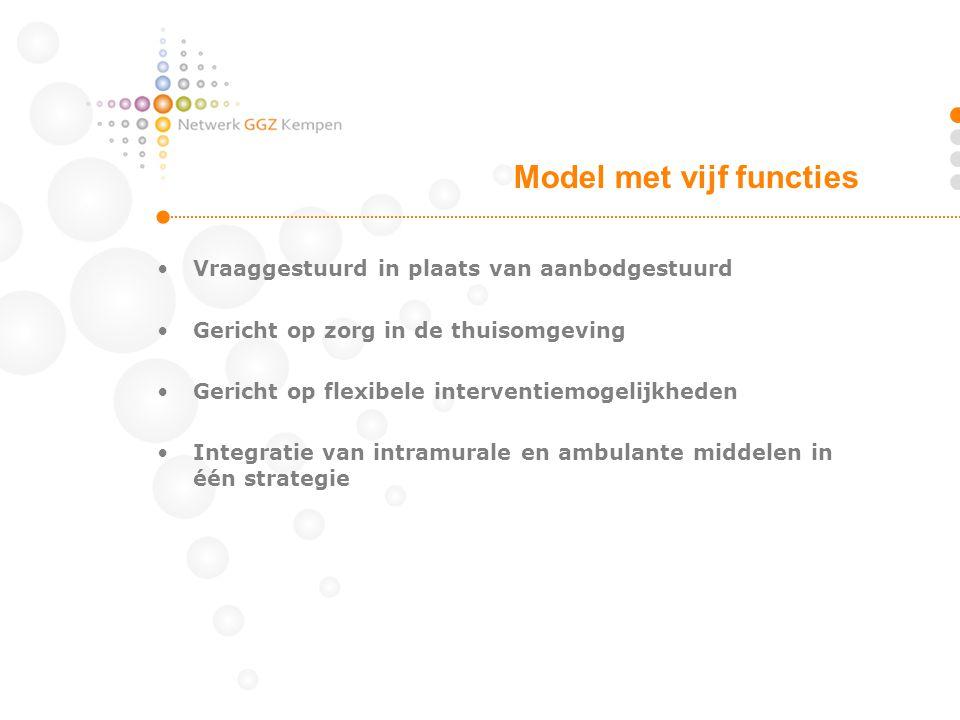 Model met vijf functies