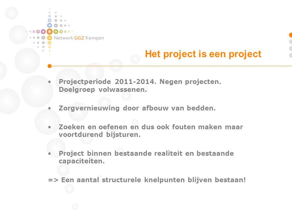 Het project is een project
