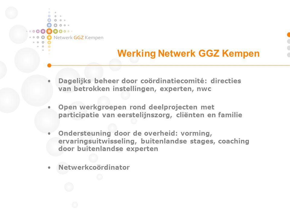 Werking Netwerk GGZ Kempen