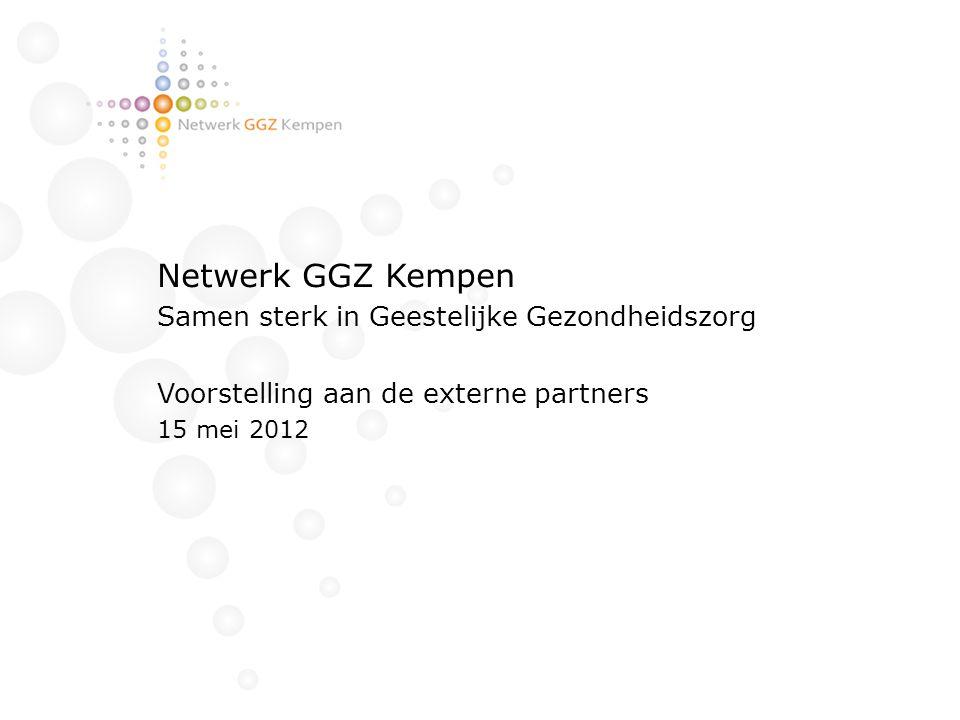 Netwerk GGZ Kempen Samen sterk in Geestelijke Gezondheidszorg
