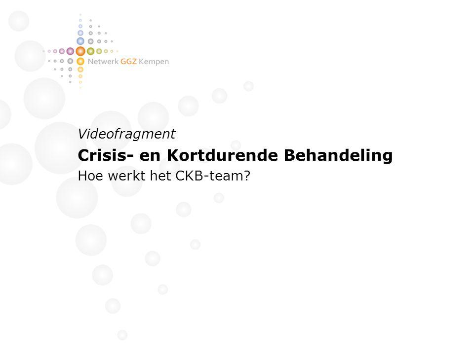 Crisis- en Kortdurende Behandeling