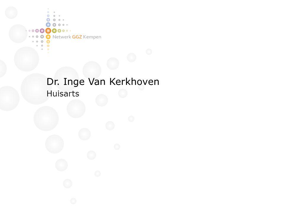 Dr. Inge Van Kerkhoven Huisarts