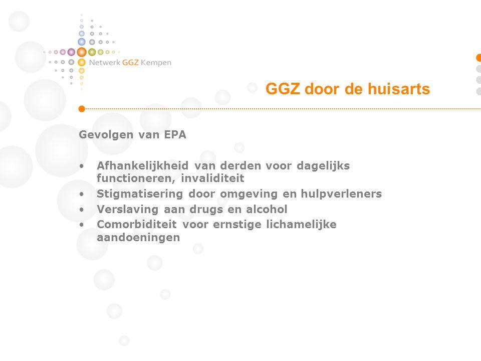 GGZ door de huisarts Gevolgen van EPA