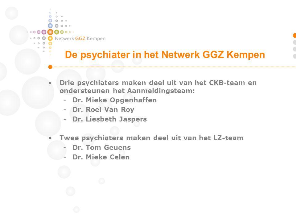 De psychiater in het Netwerk GGZ Kempen