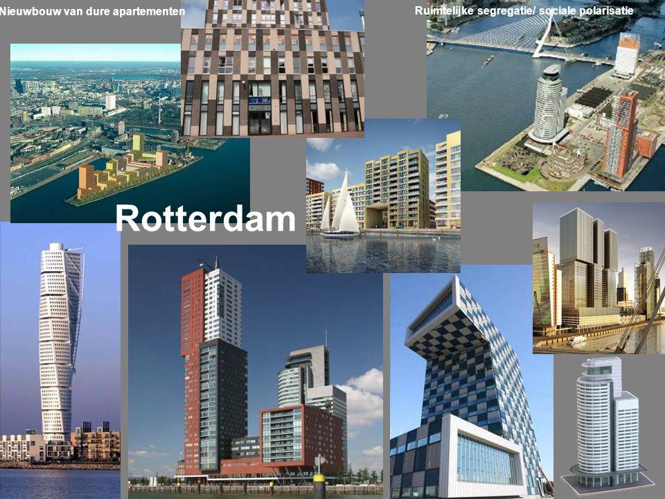 Rotterdam Nieuwbouw van dure apartementen