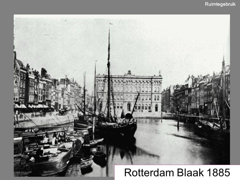 Ruimtegebruik 1950 Rotterdam Blaak 1885
