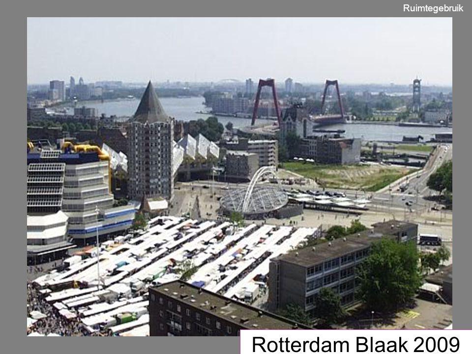 Ruimtegebruik Rotterdam Blaak 2009