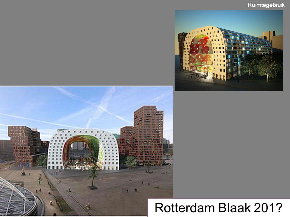 Ruimtegebruik Rotterdam Blaak 201
