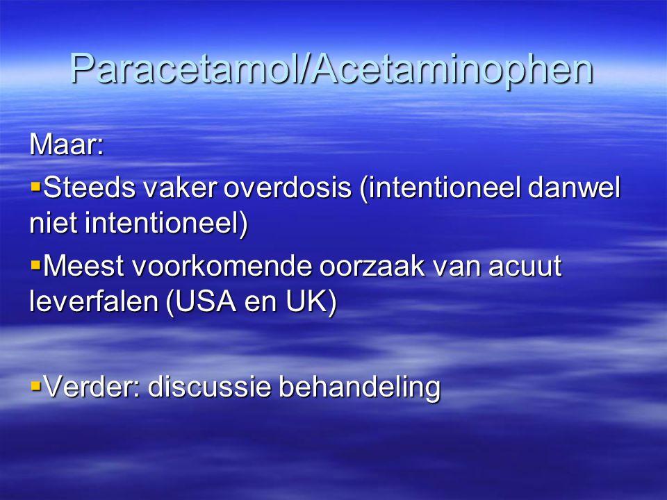 Paracetamol/Acetaminophen