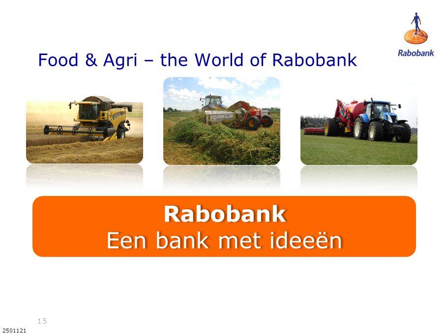 Food & Agri – the World of Rabobank