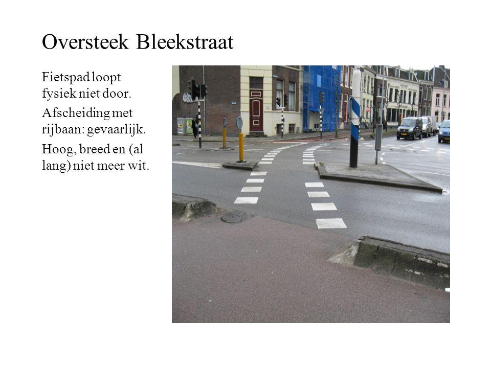 Oversteek Bleekstraat