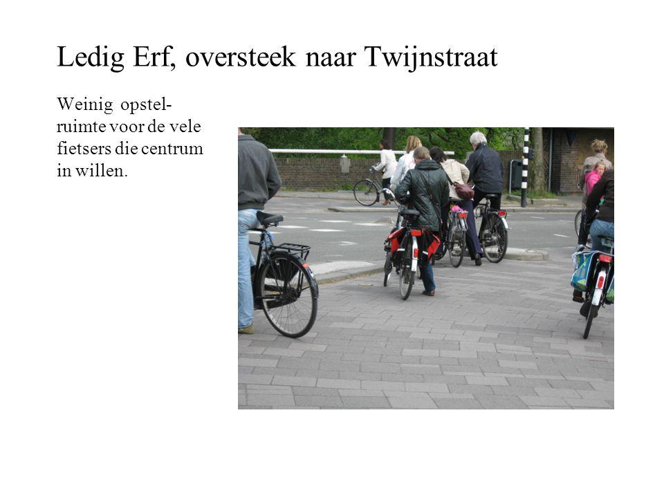 Ledig Erf, oversteek naar Twijnstraat