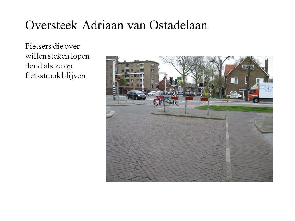 Oversteek Adriaan van Ostadelaan