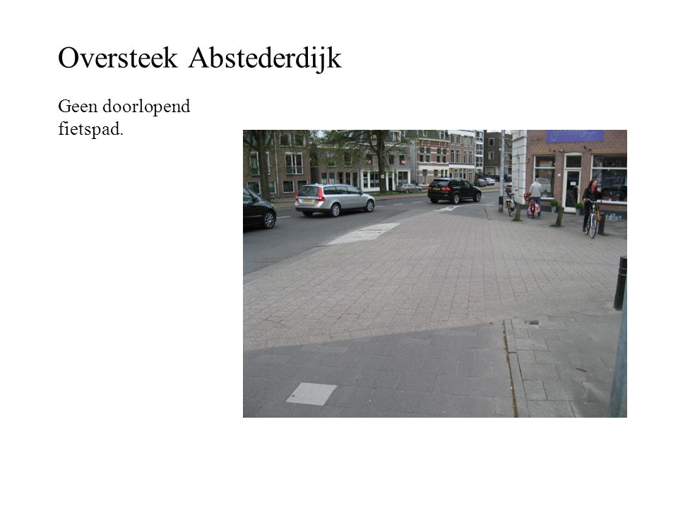 Oversteek Abstederdijk